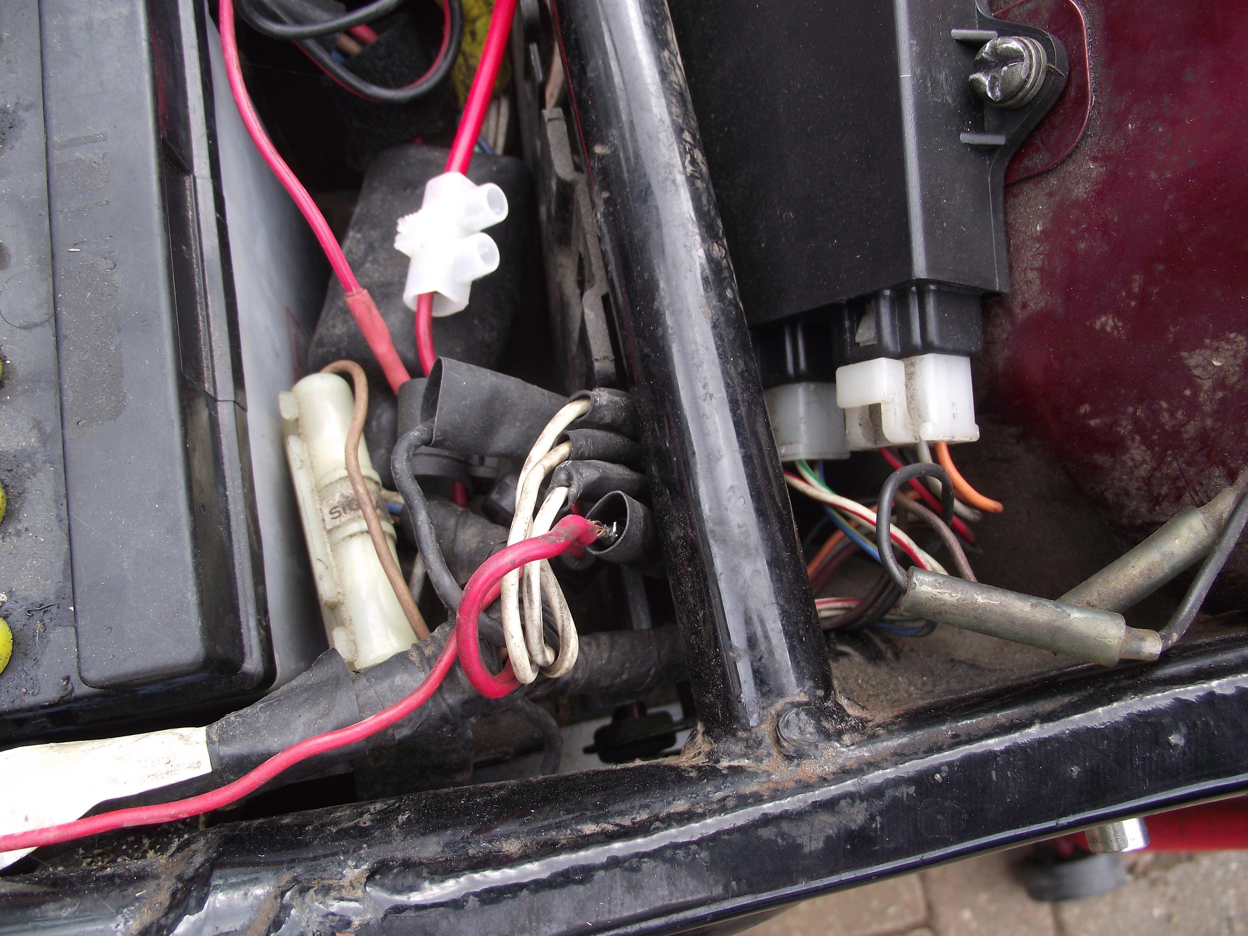 Virago temporary rectifier wire connectors
